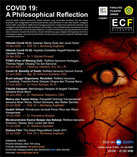 View No. 2 (2020): ECF COVID-19: A Philosophical Reflection