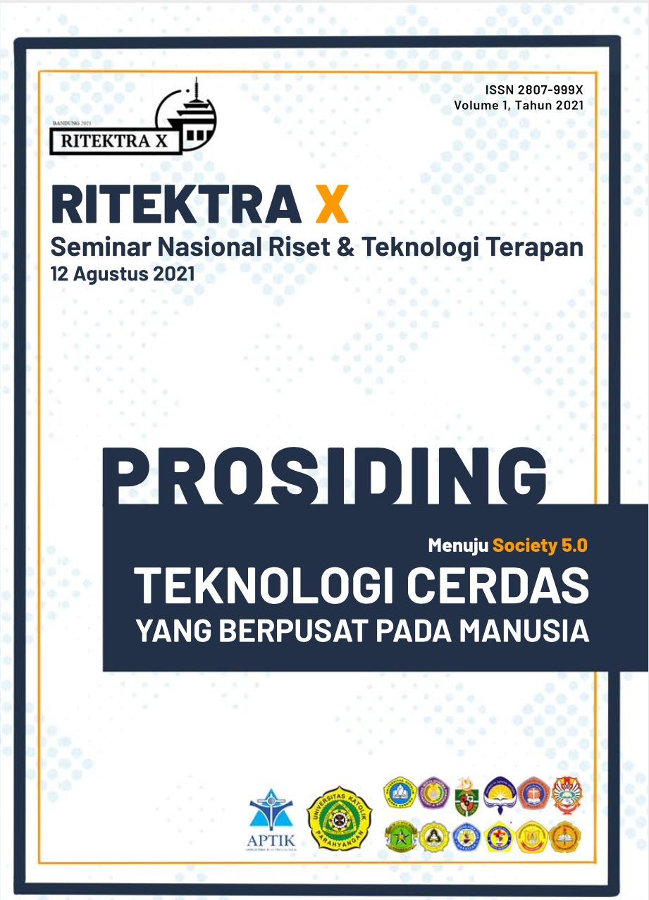View 2021: Prosiding Seminar Nasional Riset dan Teknologi Terapan (Ritektra)