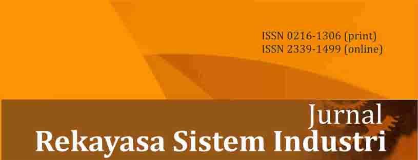 View Vol. 4 No. 1 (2015): Jurnal Rekayasa Sistem Industri