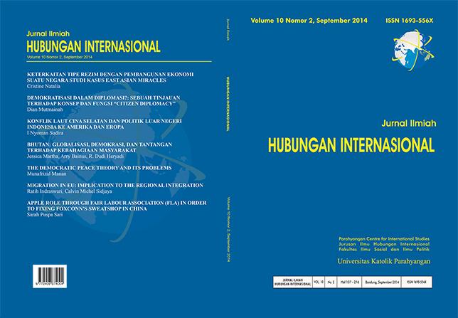 jurnal ilmiah hubungan internasional