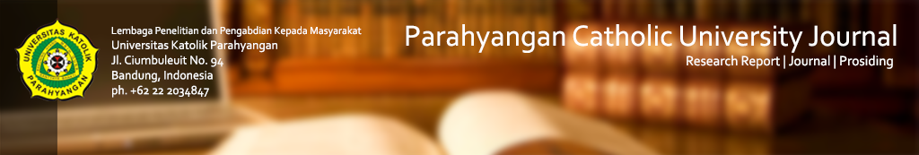 Parahyangan Catholic University Open Journal System