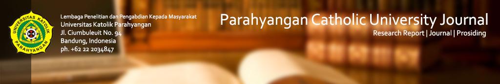 Jurnal Online Universitas Katolik Parahyangan